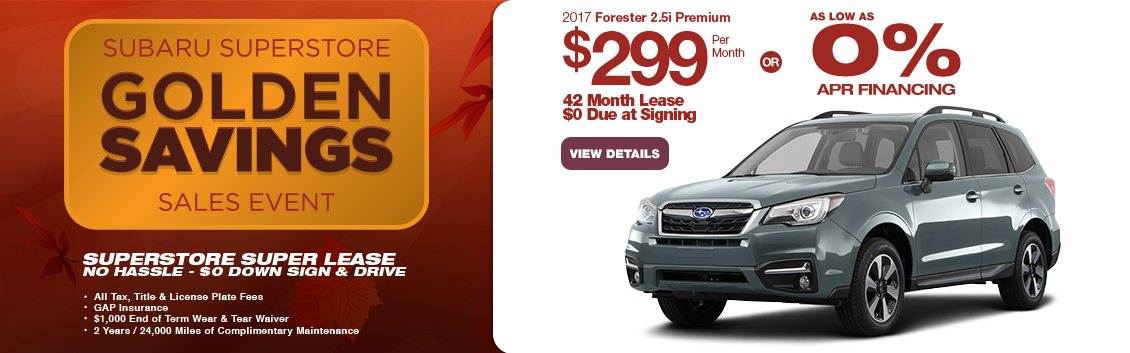 Save in the Phoenix, AZ area with this new Subaru Forester special
