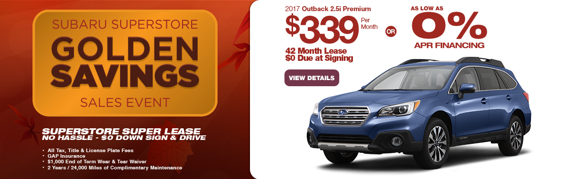 Save in the Phoenix, AZ area with this new Subaru Outback special