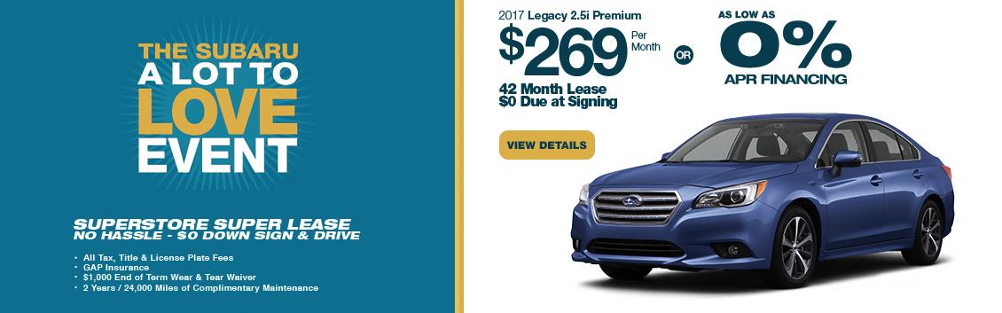 2017 Subaru Legacy 2.5i Premium Lease Special serving Phoenix, AZ