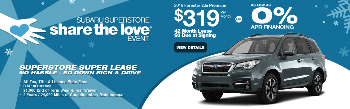 New 2018 Subaru Forester Lease Special & Finance Offers near Phoenix, AZ at Subaru Superstore