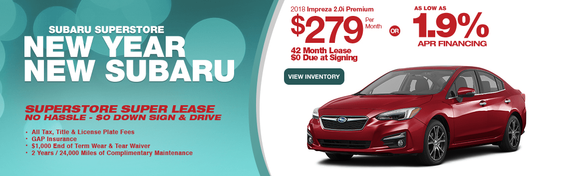 2018 Impreza 2.0i Premium Finance or Lease Special at Subaru Superstore of Chandler