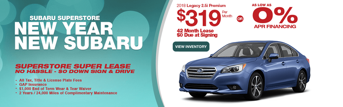 2018 Legacy 2.5i Premium Lease or Finance Special at Subaru Superstore of Chandler