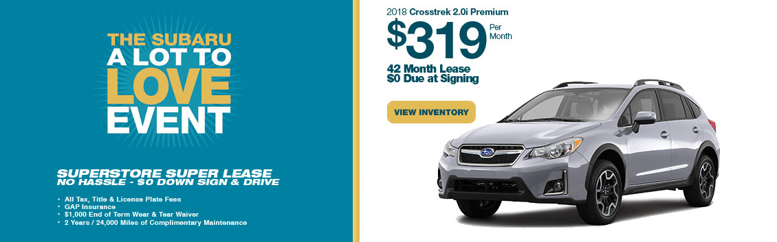 2018 Crosstrek 2.0i Premium Low Payment Lease Special serving Phoenix, AZ
