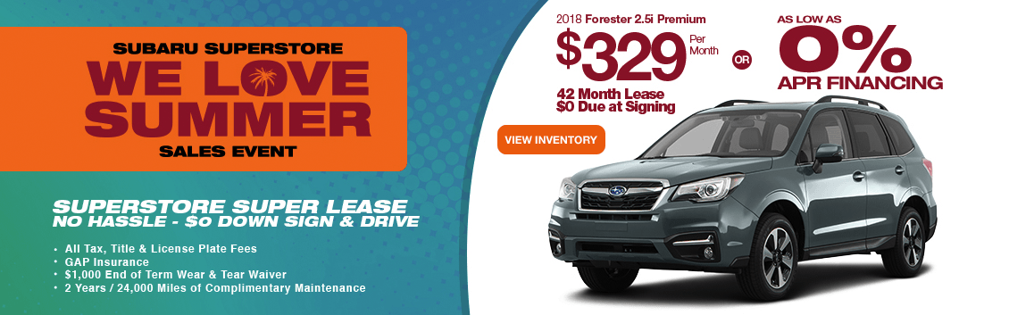 2018 Forester 2.5i Premium low APR or lease special serving Phoenix, AZ