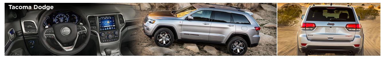 Research The New 2017 Jeep Grand Cherokee Trailhawk Model in Tacoma, WA