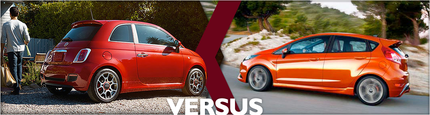 Compare 2016 Fiat 500 VS 2016 Ford Fiesta Models