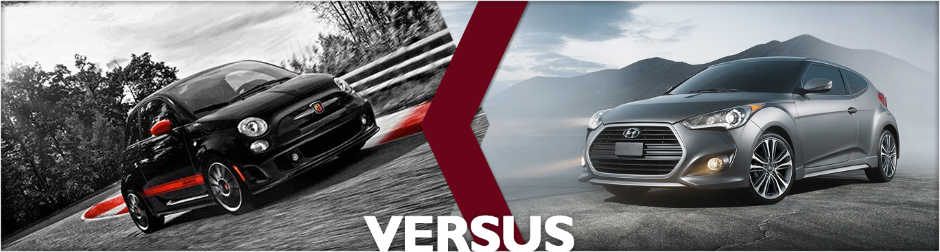 2016 FIAT 500 Abarth VS 2016 Hyundai Veloster Features & Detail Comparison