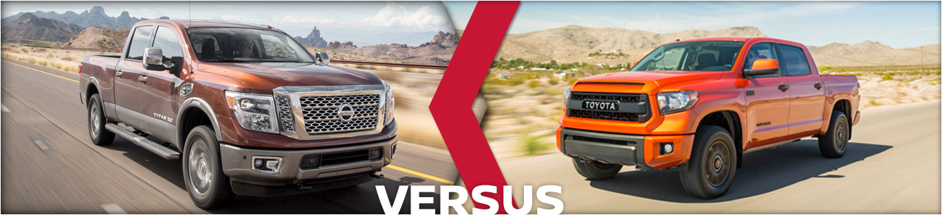 2016 Nissan Titan XD VS Toyota Tundra Model Comparison  Tacoma WA