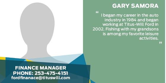 Gary Samora - Finance Manager at Titus-Will Ford