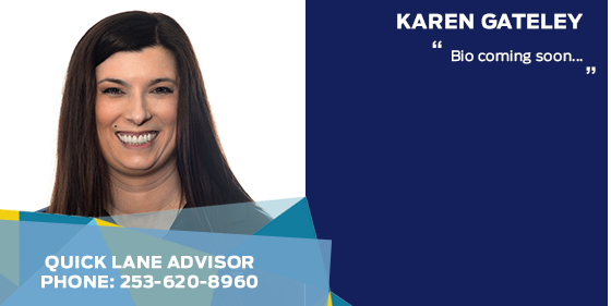 Karen Gately - Quick Lane Service Advisor at Titus-Will Ford
