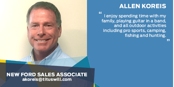 Allen Koreis - Sales Associate at Titus-Will Ford