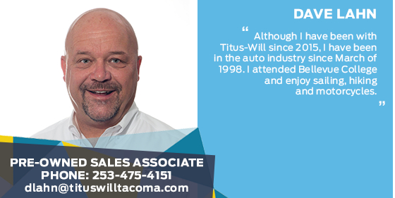 Dave Lahn - Sales Associate at Titus-Will Ford