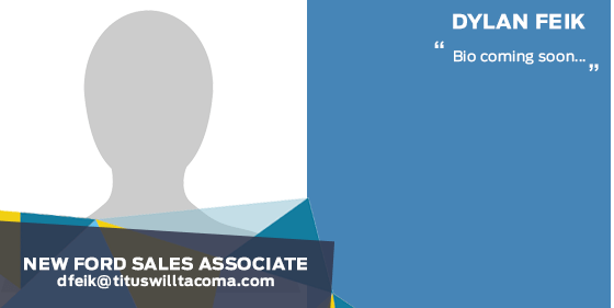 Dylan Feik - Sales Associate at Titus-Will Ford