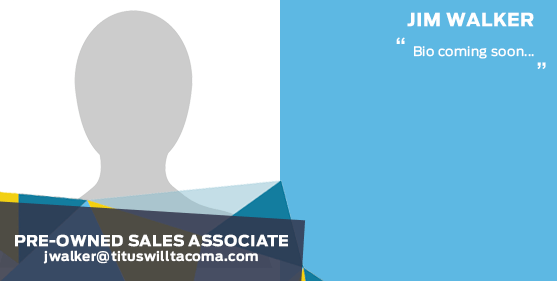 Jim Walker - Sales Associate at Titus-Will Ford