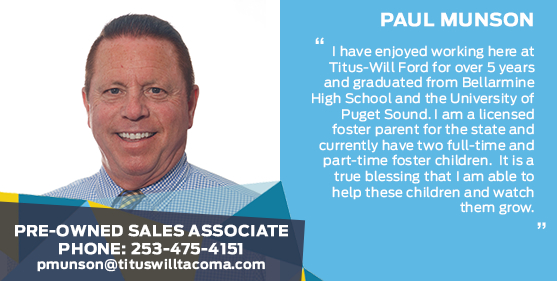 Paul Munson - Sales Associate at Titus-Will Ford