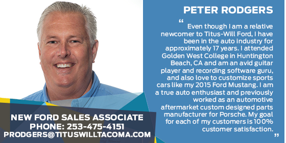 Peter Rodgers - Sales Associate at Titus-Will Ford