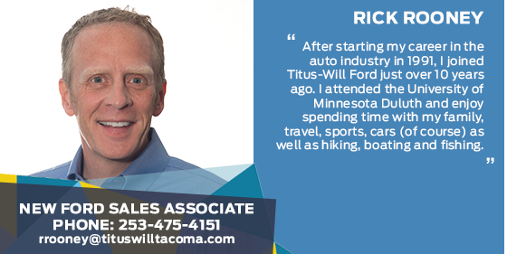 Rick Rooney - Sales Associate at Titus-Will Ford