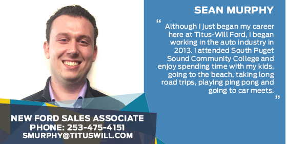 Sean Murphy - Sales Associate at Titus-Will Ford