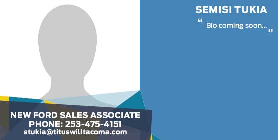 Semisi Tukia - Sales Associate at Titus-Will Ford