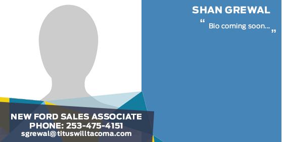 Shan Grewal - Sales Associate at Titus-Will Ford