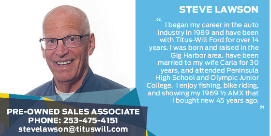 Steve Lawson - Sales Associate at Titus-Will Ford