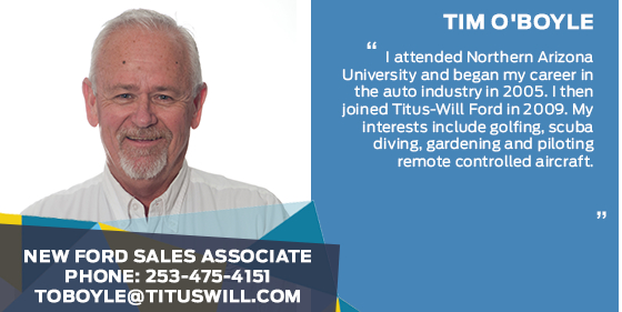 Tim O'Boyle - Sales Associate at Titus-Will Ford