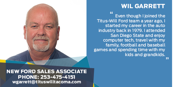 Wil Garrett - Sales Associate at Titus-Will Ford