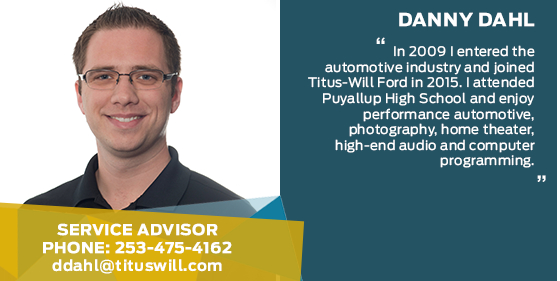 Danny Dahl - Service Advisor at Titus-Will Ford