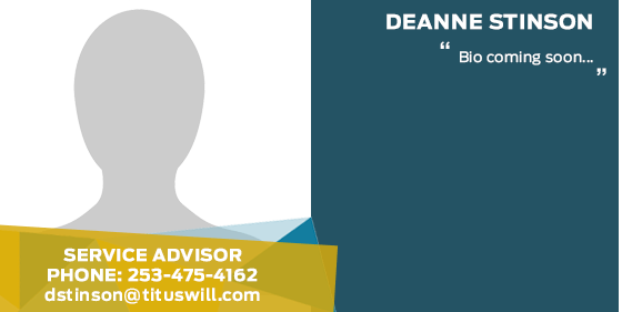 Deanne Stinson - Service Advisor at Titus-Will Ford