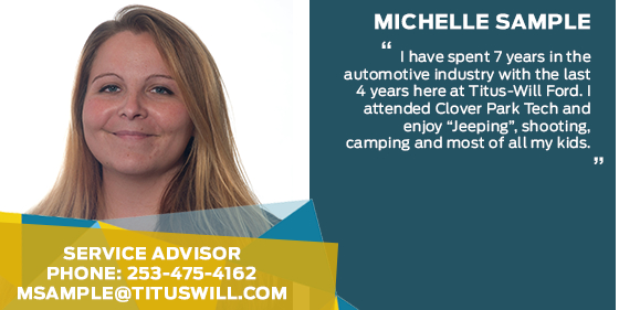 Michelle Sample - Service Advisor at Titus-Will Ford