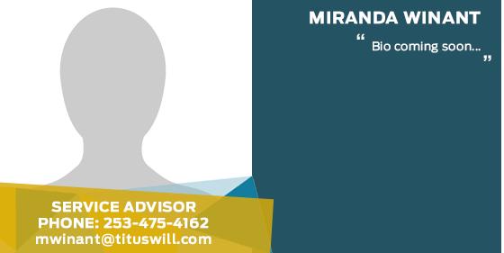Miranda Winant - Service Advisor at Titus-Will Ford