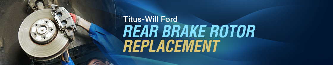 Ford Rear Brake Rotors Resurfacing & Replacement Service Information