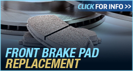 Click to View Information about our Ford Front Brake Pad Replacement Service