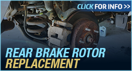 Click to View Information about our Ford Rear Brake Rotor Replacement Service