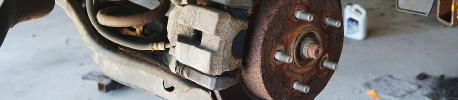 Learn more about our rear brake rotor replacement service