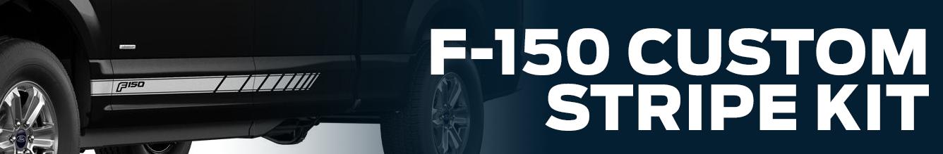 Genuine Ford F-150 Custom Stripe Kit Parts Information in Tacoma, WA