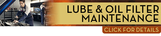 Click to view our Ford lube & oil filter change service interval in Tacoma, WA