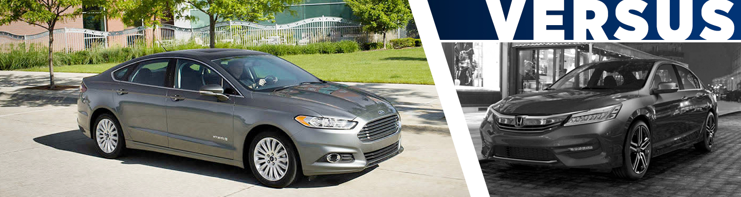 2016 Ford Fusion vs 2016 Honda Accord Model Comparison in Tacoma, WA