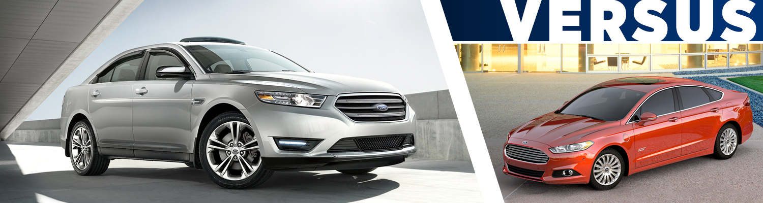 Compare 2016 Ford Taurus vs Ford Fusion Models Features