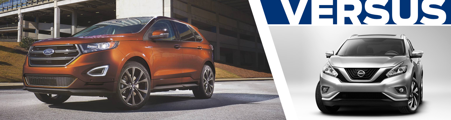 2017 Ford Edge VS 2017 Nissan Murano Model Comparison in Tacoma, WA