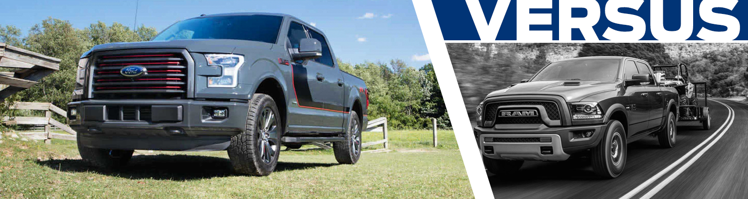 Compare 2017 Ford F-150 vs 2017 RAM 1500 Models Features