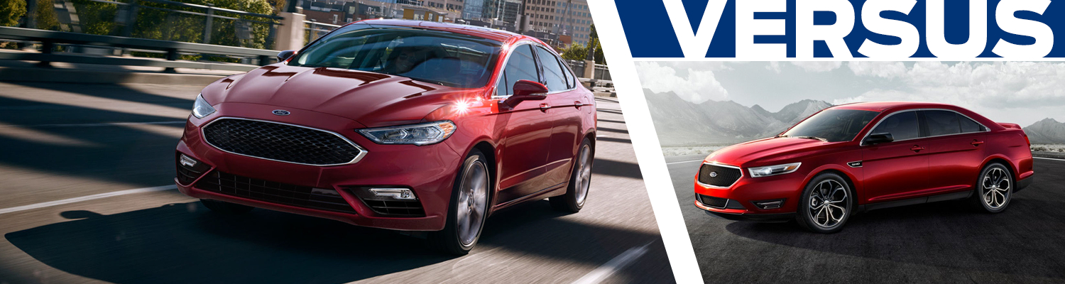2017 Ford Fusion vs 2017 Ford Taurus Model Comparison in Tacoma, WA