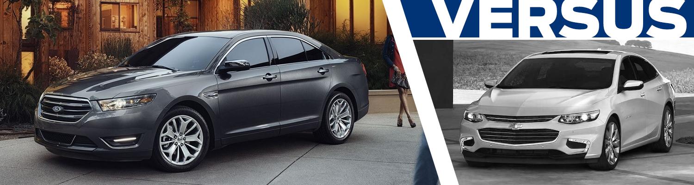 2017 Ford Taurus vs 2017 Chevrolet Malibu Model Comparison in Tacoma, WA