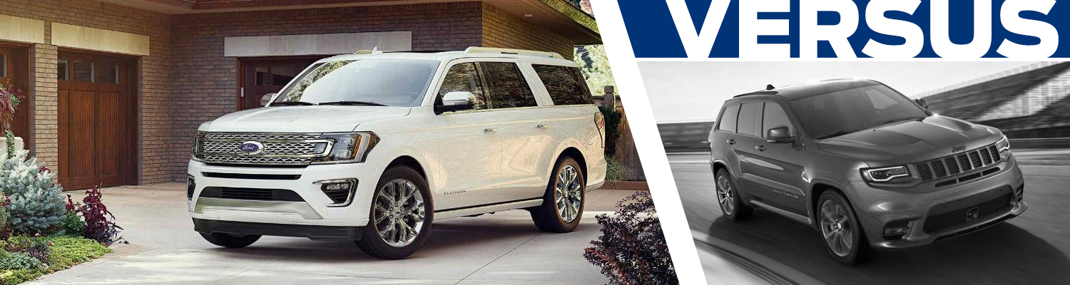 Research our 2018 Ford Expedition vs 2018 Jeep Grand Cherokee comparison at Titus Will Ford in Tacoma, WA