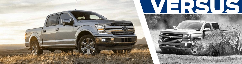 Research our 2018 Ford F-150 vs 2018 Chevrolet Silverado comparison at Titus Will Ford in Tacoma, WA