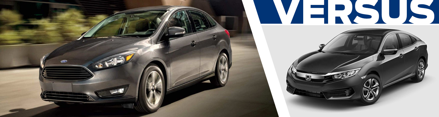 Research our 2018 Ford Focus vs 2018 Honda Civic comparison at Titus Will Ford in Tacoma, WA