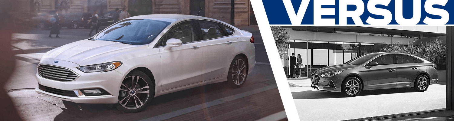Research the 2018 Ford Fusion vs 2018 Hyundai Sonata model comparison at Titus Will Ford in Tacoma, WA
