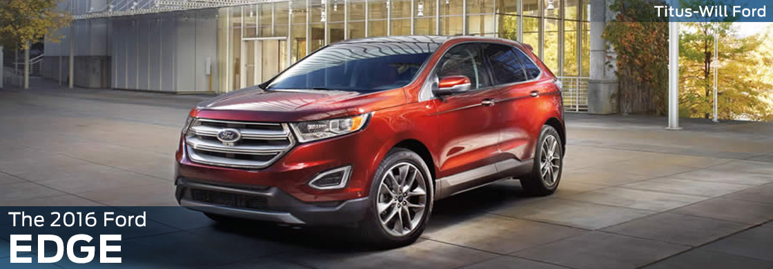2016 Ford Edge Model Features & Details