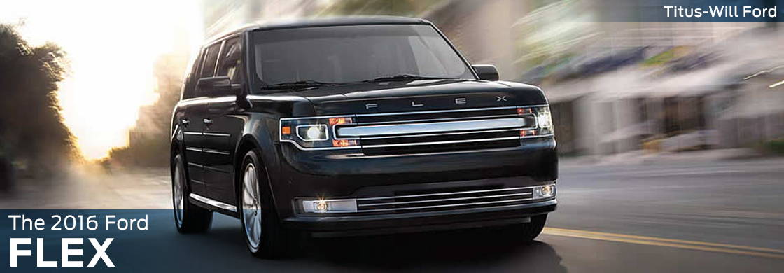 2016 Ford Flex Model Features & Details