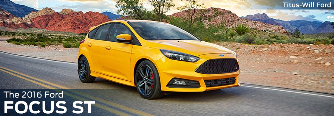 Research The New 2016 Ford Focus ST Model Information in Tacoma, WA